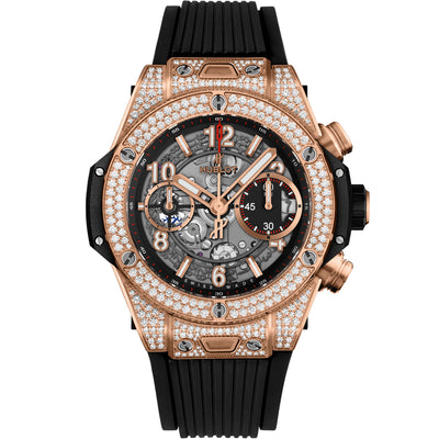 Hublot Big Bang Unico Chronograph 42mm 441.OX.1180.RX.1704 Overworked Dial