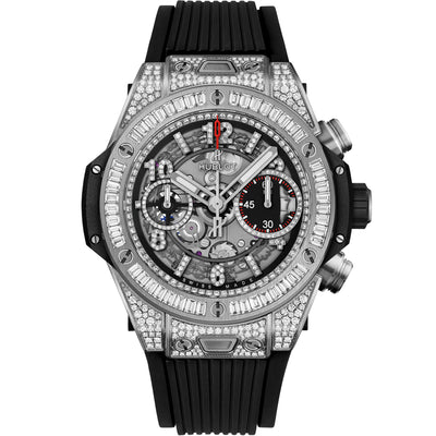 Hublot Big Bang Unico Chronograph 42mm 441.NX.1170.RX.0904 Overworked Diamond Dial
