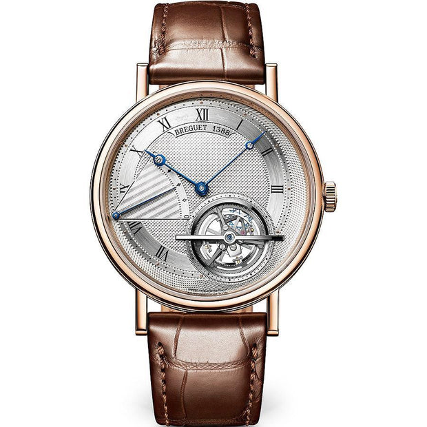 Breguet Classique Complication Tourbillon 42mm 5377BR129WU Silver Dial-First Class Timepieces