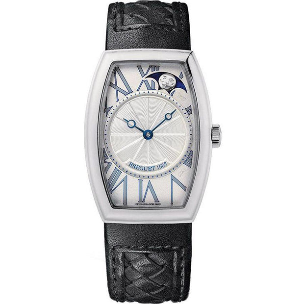 Breguet Heritage Moonphase 35mm 8860BB11386 Silver Dial-First Class Timepieces