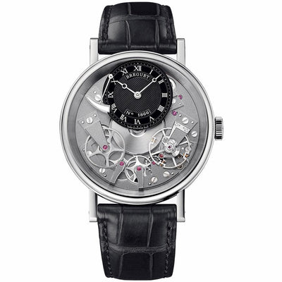 Breguet Tradition 40mm 7057BB/G9/9W6 Overworked Dial-First Class Timepieces