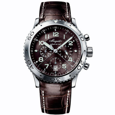 Breguet Type XXI Chronograph 42.5mm 3810ST/92/9ZU Ruthenium Dial-First Class Timepieces