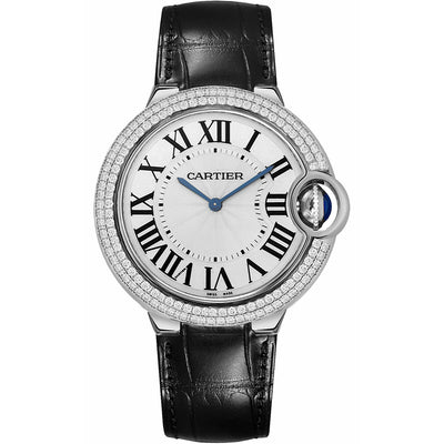 Cartier Ballon Bleu De Cartier 40mm WE902056 Silver Dial