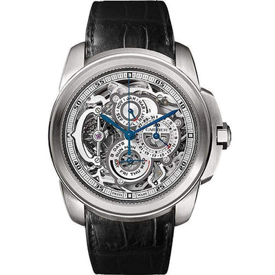 Cartier Limited Edition Calibre de Cartier 45mm W7100031 Overworked Dial-First Class Timepieces