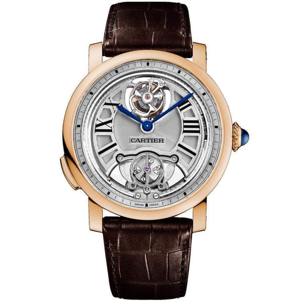 Cartier Rotonde de Cartier Minute Repeater Flying Tourbillon 45mm Overworked Dial-First Class Timepieces
