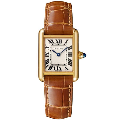 Cartier Tank 29mm W1529856 Silver Dial-First Class Timepieces