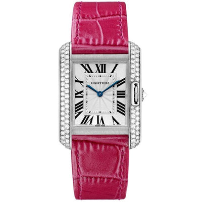Cartier Tank Anglaise 34mm WT100030 Silver Dial-First Class Timepieces