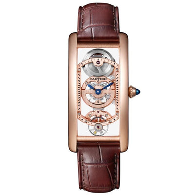 Cartier Tank Cintree 33mm WHTA0008 Overworked Dial-First Class Timepieces