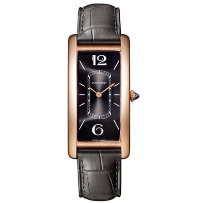 Cartier Tank Cintree 46mm WGTA0025 Black Dial-First Class Timepieces