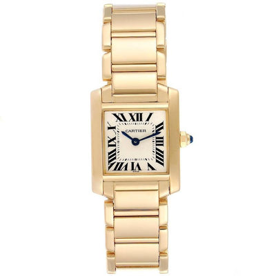 Cartier Tank Francaise 25mm W50002N2 Silver Dial-First Class Timepieces