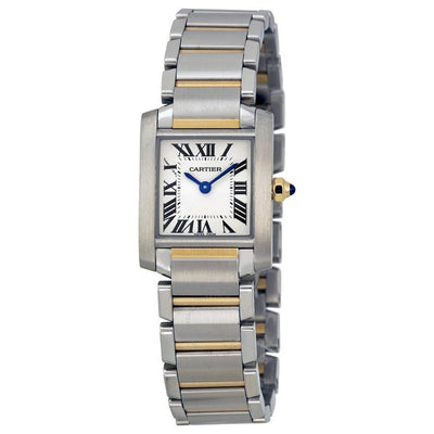 Cartier Tank Francaise 25mm W51007Q4 Silver Dial-First Class Timepieces