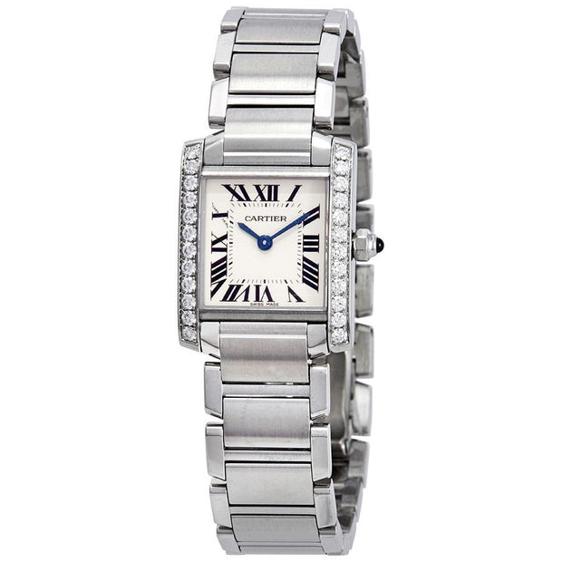 Cartier Tank Francaise 25mm W51008Q3 Silver Dial-First Class Timepieces