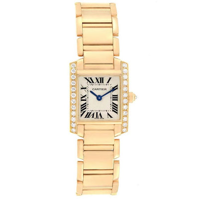 Cartier Tank Francaise 25mm WE1001R8 Silver Dial-First Class Timepieces