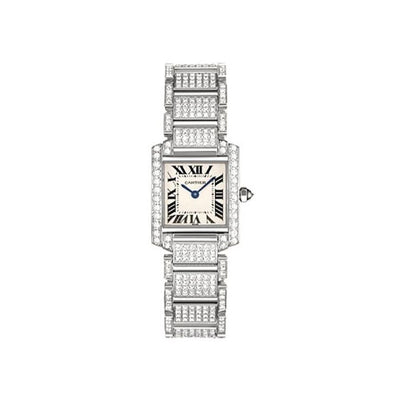 Cartier Tank Francaise 25mm WE1002SD Silver Dial-First Class Timepieces