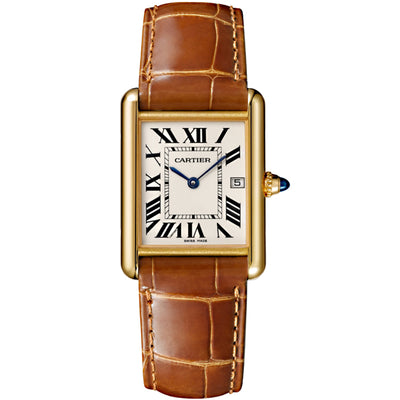 Cartier Tank Louis 33mm Quartz W1529756 Silver Dial