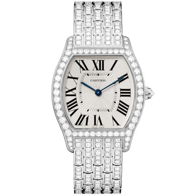 Cartier Tortue 39mm HPI00779 Silver Dial-First Class Timepieces