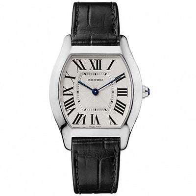 Cartier Tortue 39mm W1556363 Silver Dial-First Class Timepieces