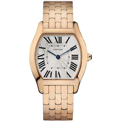 Cartier Tortue 39mm W1556366 Silver Dial-First Class Timepieces