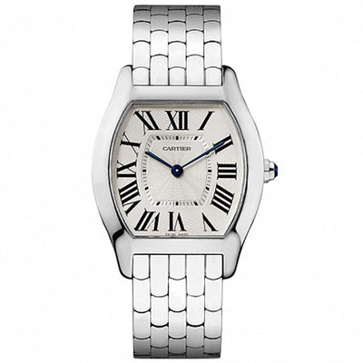 Cartier Tortue 39mm W1556367 Silver Dial-First Class Timepieces