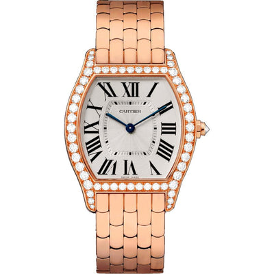 Cartier Tortue 39mm WA501012 Silver Dial-First Class Timepieces