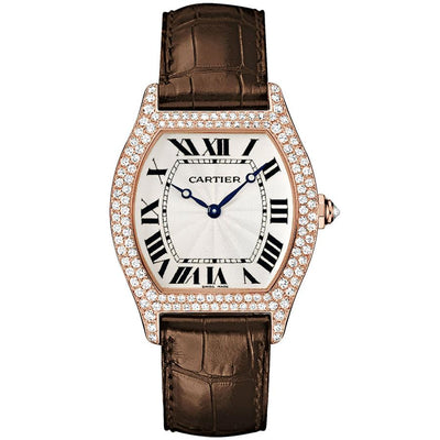 Cartier Tortue 43mm WA503951 Silver Dial-First Class Timepieces