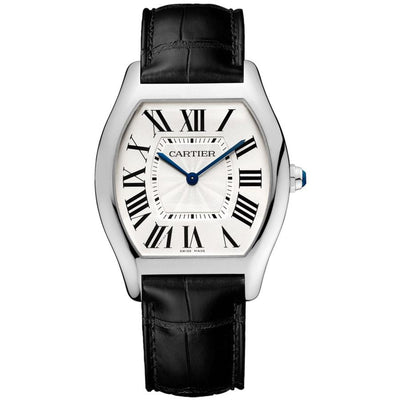 Cartier Tortue 44.95mm WGTO0003 Silver Dial-First Class Timepieces