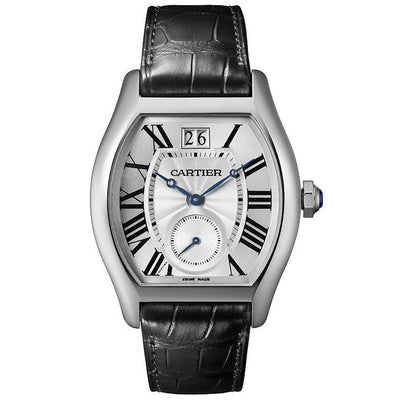 Cartier Tortue 48mm W1556233 Silver Dial-First Class Timepieces