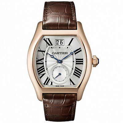 Cartier Tortue 48mm W1556234 Silver Dial-First Class Timepieces