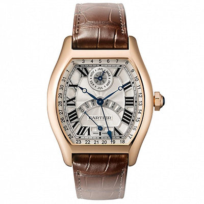 Cartier Tortue Perpetual Calendar 51mm W1580045 Silver Dial-First Class Timepieces