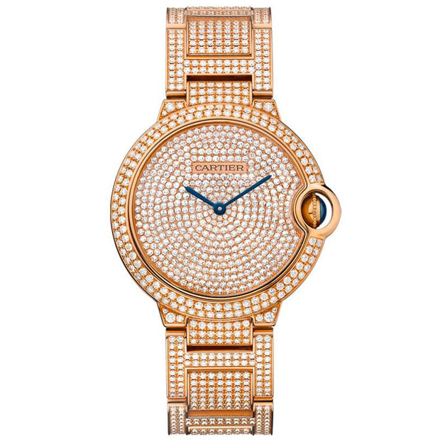 Cartier Ballon Bleu De Cartier 36mm HPI00489 Diamond Paved Dial