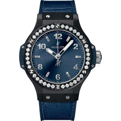Hublot Big Bang 38mm 361.CM.7170.LR.1204 Blue Dial-First Class Timepieces