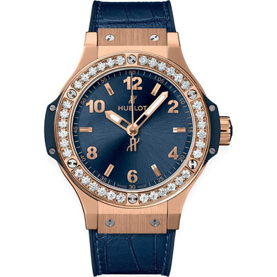 Hublot Big Bang 38mm 361.PX.7180.LR.1204 Blue Dial-First Class Timepieces