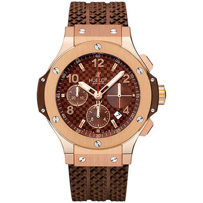 Hublot Big Bang 41mm 341.PC.1007.RX Chocolate Carbon Dial-First Class Timepieces