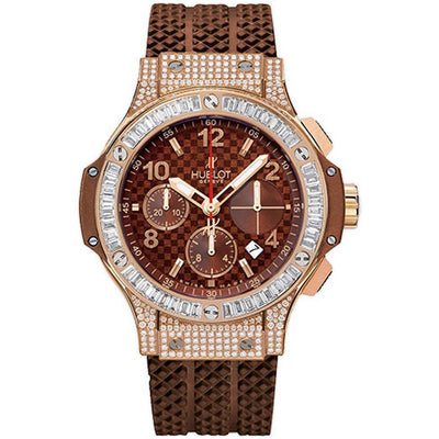 Hublot Big Bang 41mm 341.PC.1007.RX.0904 Chocolate Carbon Dial-First Class Timepieces