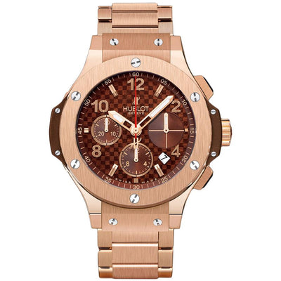 Hublot Big Bang 41mm 341.PC.3380.PC Chocolate Carbon Dial-First Class Timepieces