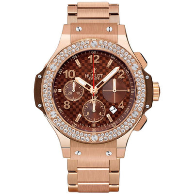 Hublot Big Bang 41mm 341.PC.3380.PC.1104 Chocolate Carbon Dial-First Class Timepieces