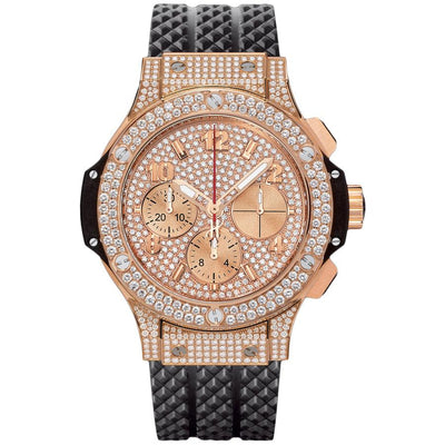 Hublot Big Bang 41mm 341.PX.9010.RX.1704 Diamond Dial-First Class Timepieces