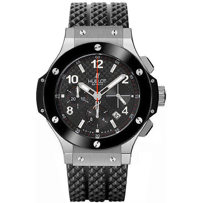 Hublot Big Bang 41mm 341.SB.131.RX Black Carbon Dial-First Class Timepieces
