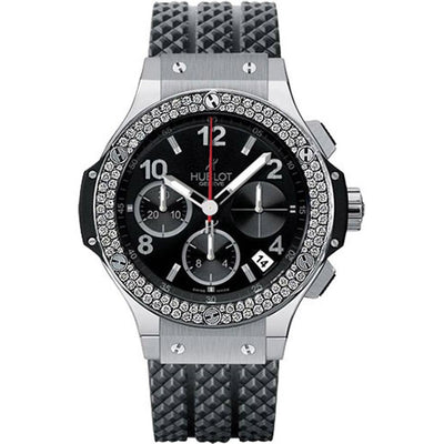 Hublot Big Bang 41mm 341.SX.130.RX.114 Black Dial-First Class Timepieces