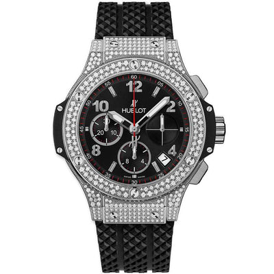 Hublot Big Bang 41mm 341.SX.130.RX.174 Black dial-First Class Timepieces