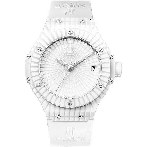 Hublot Big Bang 41mm 346.HX.2800.BR White Dial-First Class Timepieces