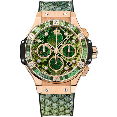 Hublot Big Bang Boa Bang Limited Edition 41mm 341.PX.7818.PR.1978 Green Dial-First Class Timepieces