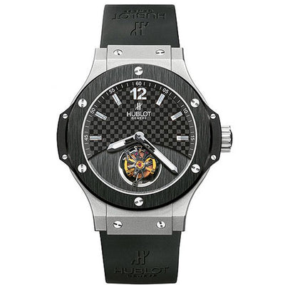 "Hublot Big Bang ""Solo Bang"" Tourbillon 305.TM.131.RX Black Dial-First Class Timepieces"