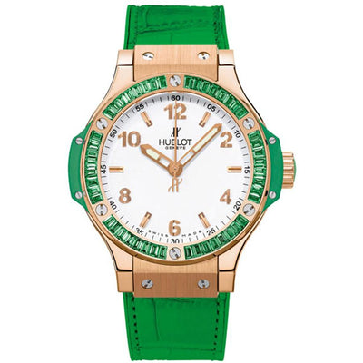 Hublot Big Bang Tutti Frutti 38mm 361.PG.2010.LR.1922 White Dial-First Class Timepieces