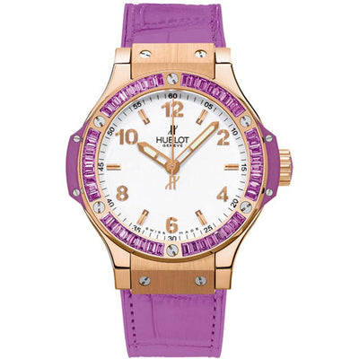 Hublot Big Bang Tutti Frutti 38mm 361.PV.2010.LR.1905 White Dial-First Class Timepieces