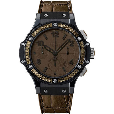 Hublot Big Bang Tutti Frutti 41mm 341.CC.5490.LR.1916 Brown Dial-First Class Timepieces
