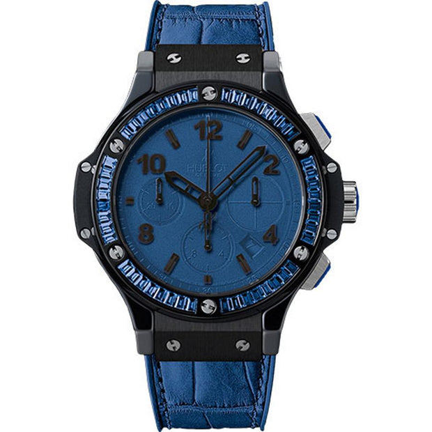 Hublot Big Bang Tutti Frutti 41mm 341.CL.5190.LR.1901 Blue Dial-First Class Timepieces