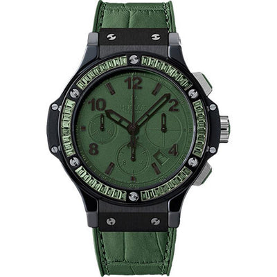 Hublot Big Bang Tutti Frutti 41mm 341.CV.5290.LR.1917 Green Dial-First Class Timepieces