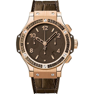Hublot Big Bang Tutti Frutti 41mm 341.PC.5490.LR.1916 Brown Dial-First Class Timepieces