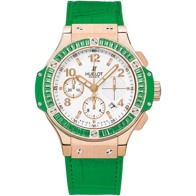 Hublot Big Bang Tutti Frutti 41mm 341.PG.2010.LR.1922 White Dial-First Class Timepieces